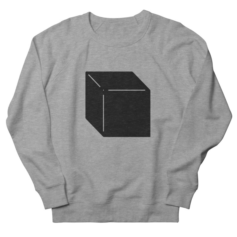 Shapes Cube Men's Sweatshirt by Rickard Arvius