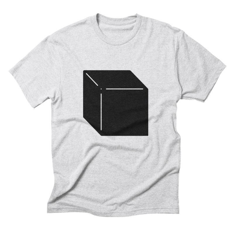 Shapes Cube Men's Triblend T-Shirt by Rickard Arvius