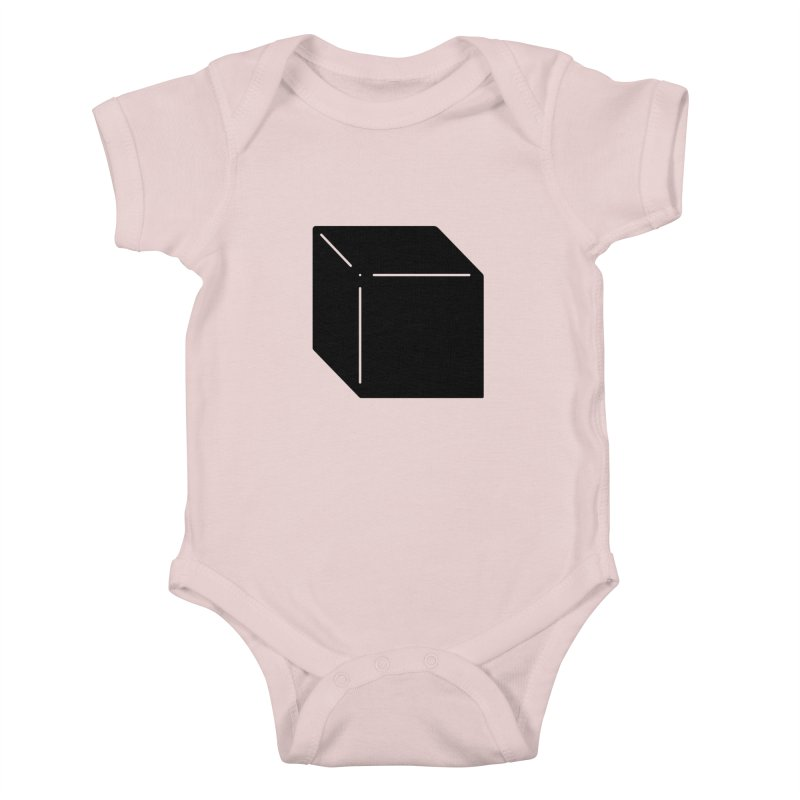 Shapes Cube Kids Baby Bodysuit by Rickard Arvius