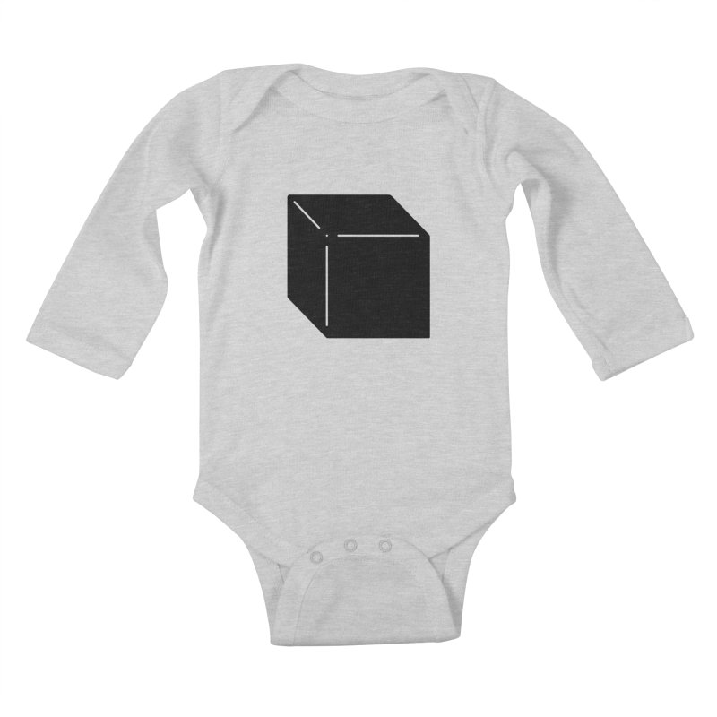 Shapes Cube Kids Baby Longsleeve Bodysuit by Rickard Arvius
