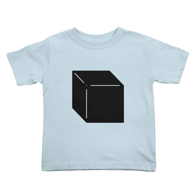 Shapes Cube Kids Toddler T-Shirt by Rickard Arvius