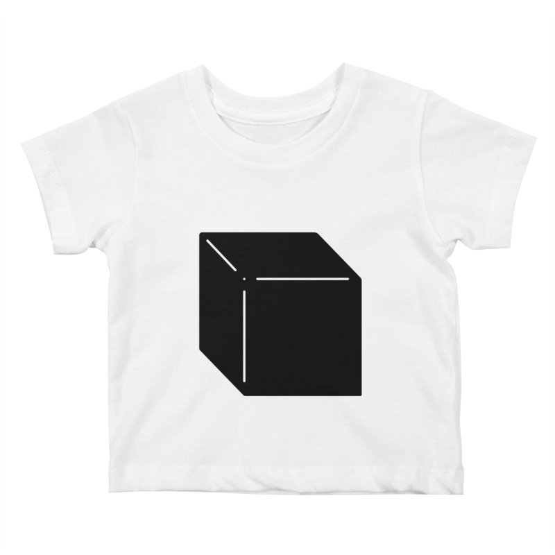 Shapes Cube Kids Baby T-Shirt by Rickard Arvius