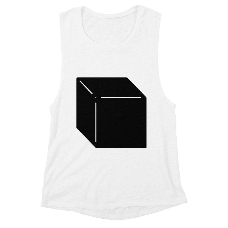 Shapes Cube Women's Tank by Rickard Arvius