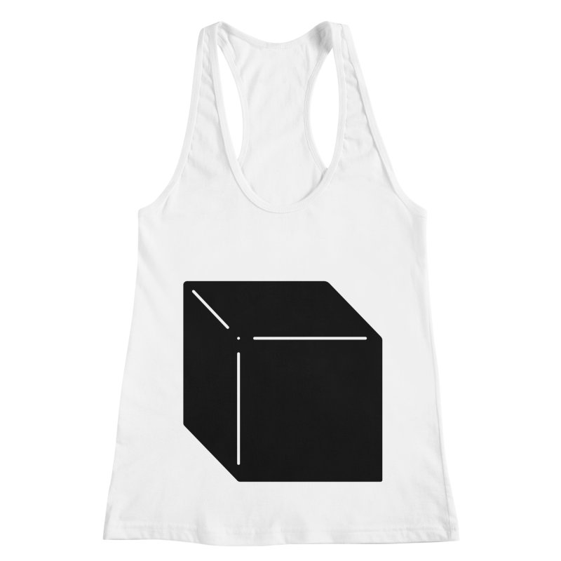 Shapes Cube Women's Racerback Tank by Rickard Arvius