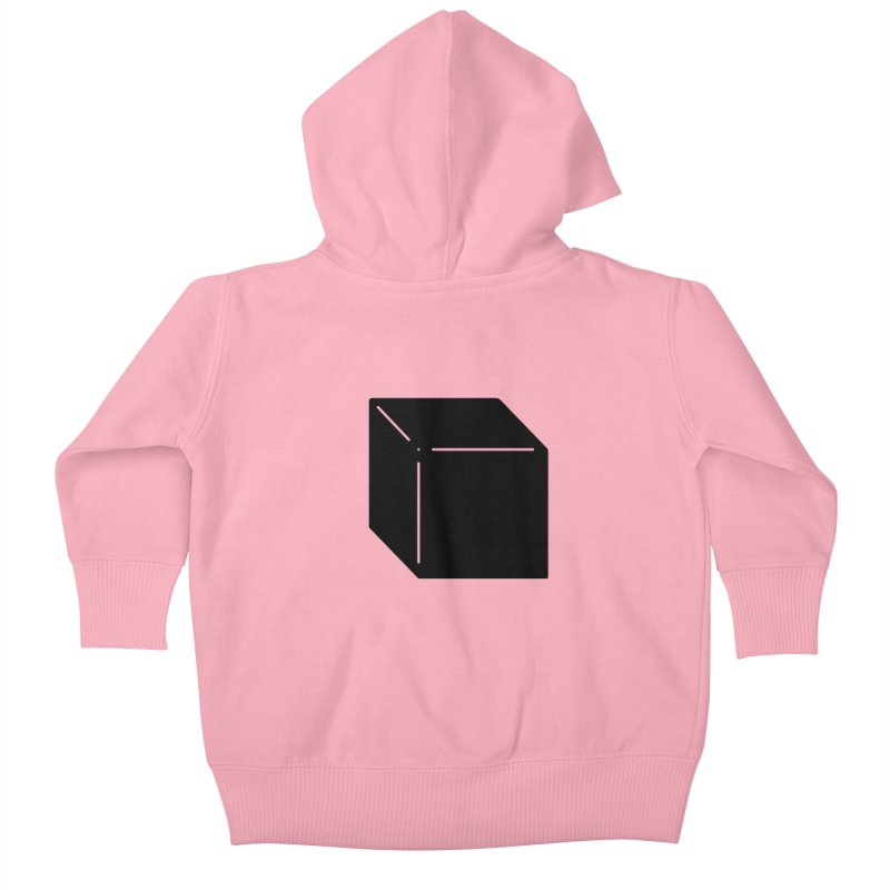 Shapes Cube Kids Baby Zip-Up Hoody by Rickard Arvius