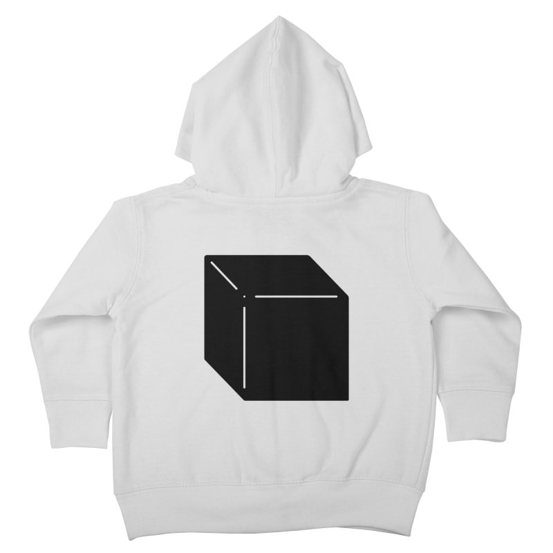 Shapes Cube Kids Toddler Zip-Up Hoody by Rickard Arvius
