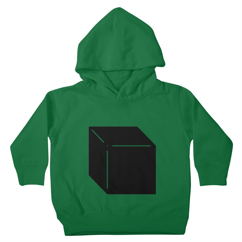 Shapes Cube Kids Toddler Pullover Hoody by Rickard Arvius