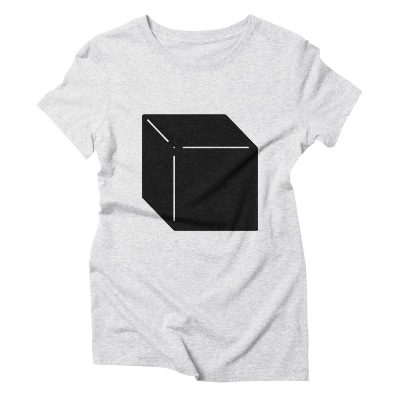 Shapes Cube Women's T-Shirt by Rickard Arvius