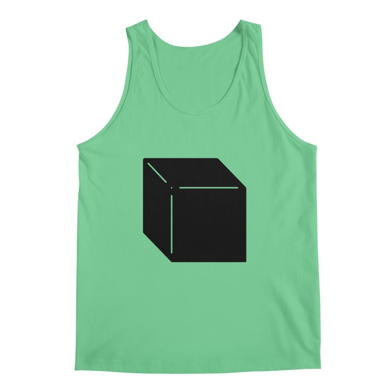 Shapes Cube Men's Tank by Rickard Arvius