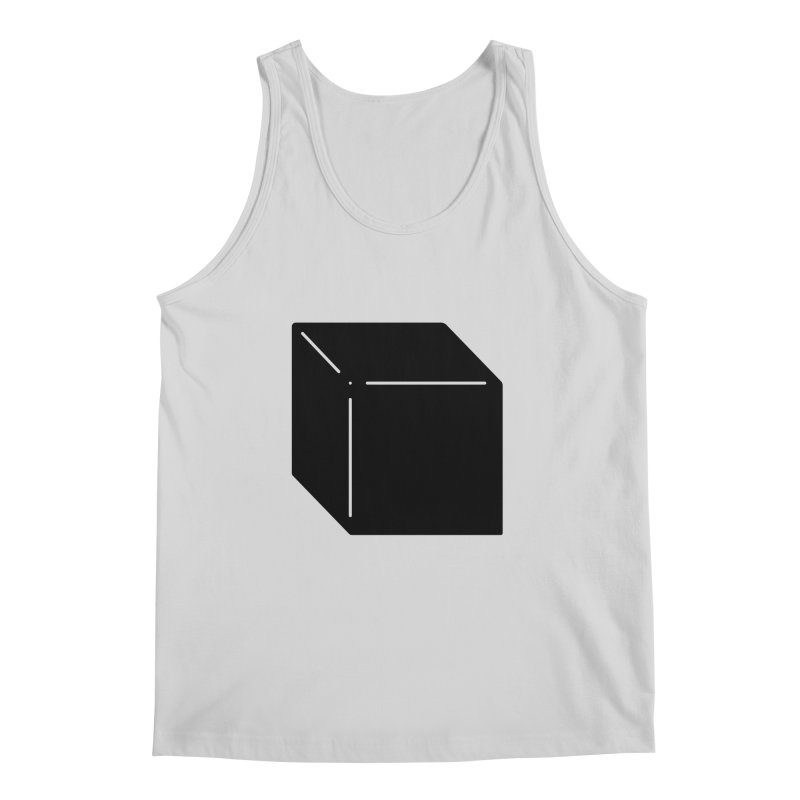 Shapes Cube Men's Regular Tank by Rickard Arvius