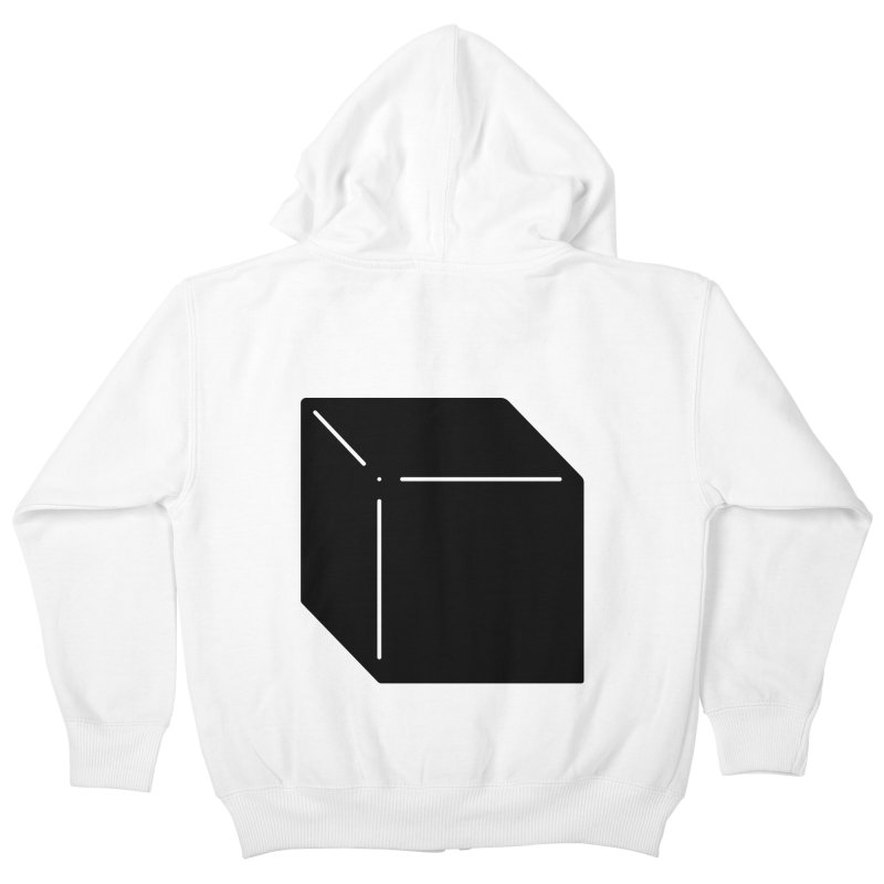 Shapes Cube Kids Zip-Up Hoody by Rickard Arvius