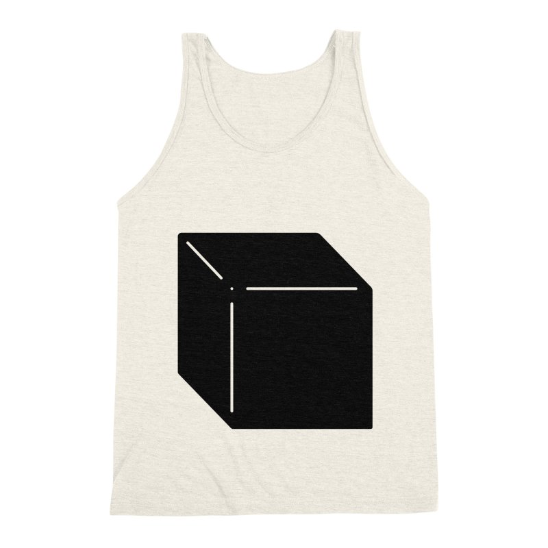 Shapes Cube Men's Triblend Tank by Rickard Arvius