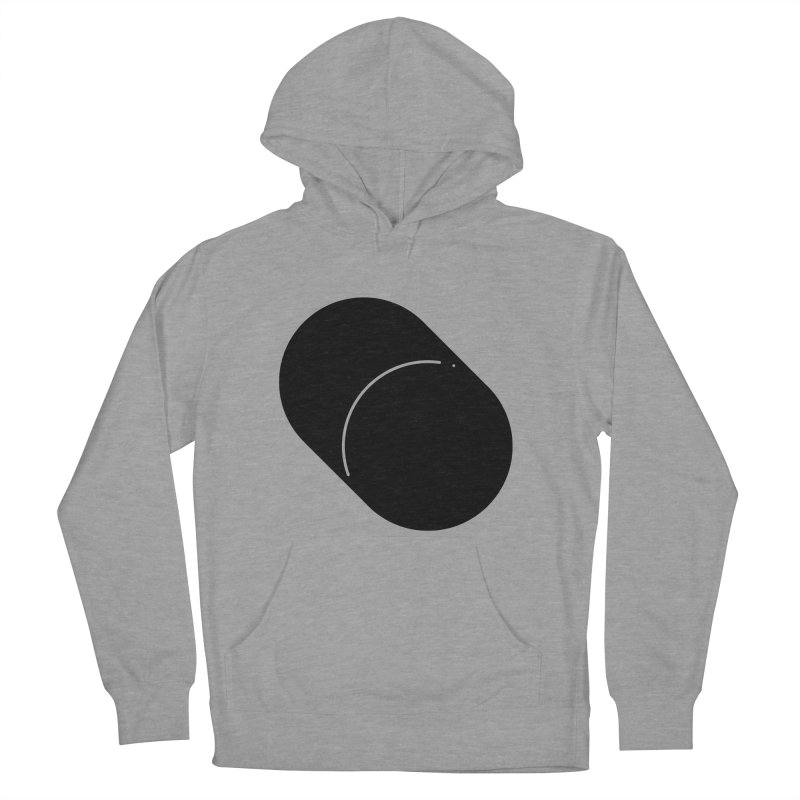 Shapes Cylinder Men's French Terry Pullover Hoody by Rickard Arvius