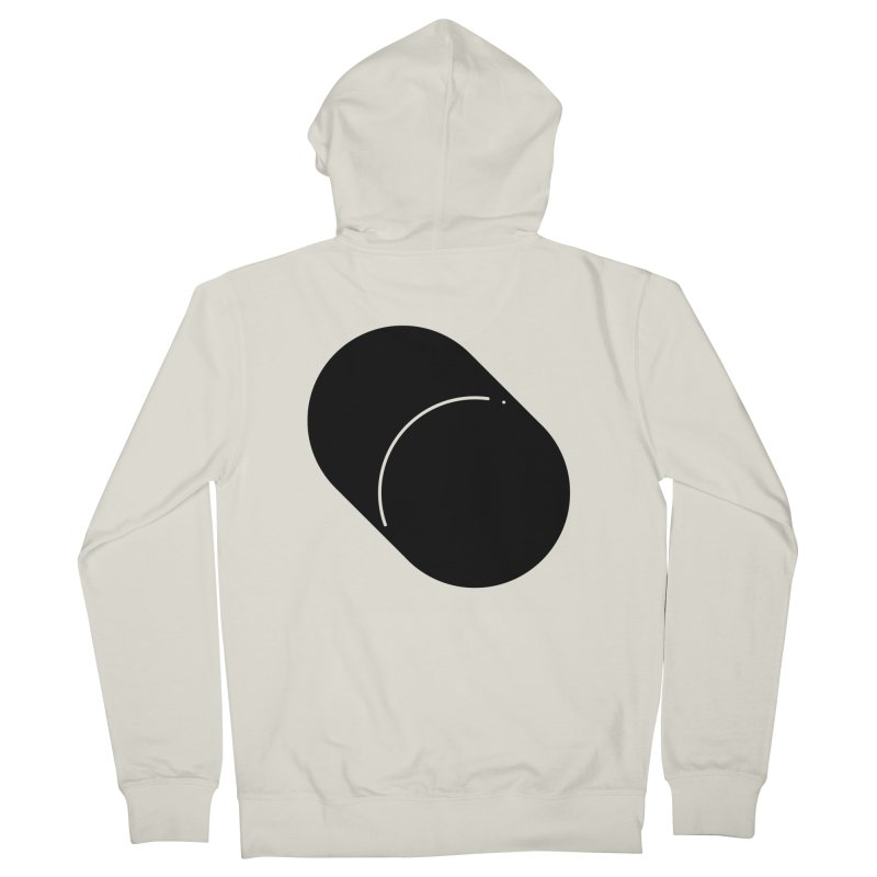 Shapes Cylinder Women's Zip-Up Hoody by Rickard Arvius