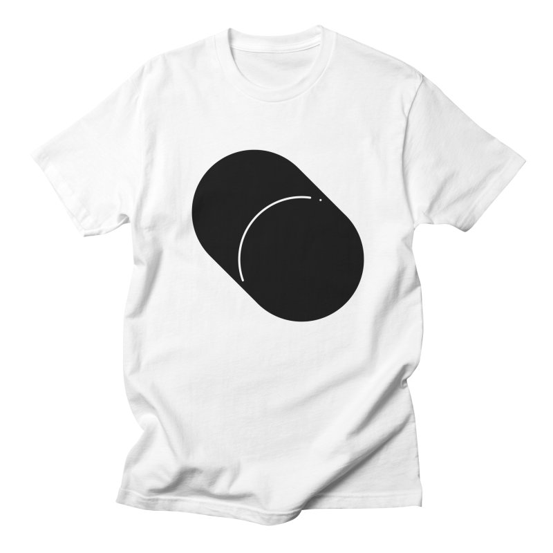 Shapes Cylinder Men's T-Shirt by Rickard Arvius