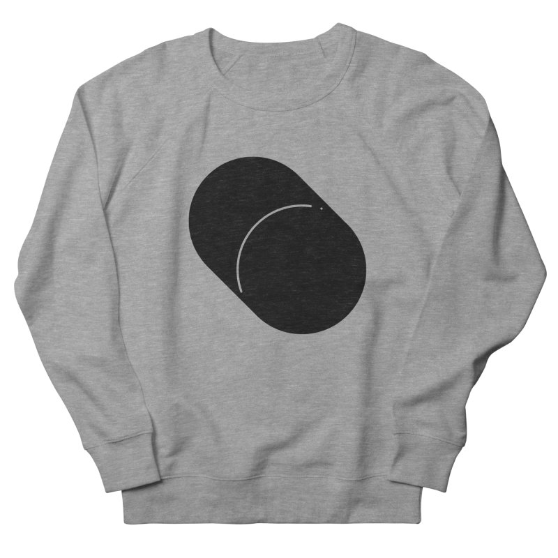 Shapes Cylinder Men's French Terry Sweatshirt by Rickard Arvius