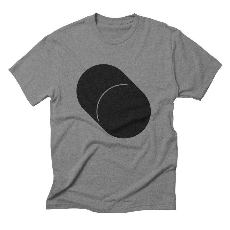 Shapes Cylinder Men's Triblend T-Shirt by Rickard Arvius