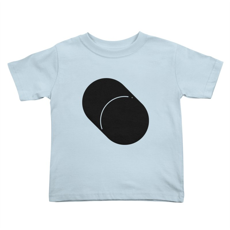 Shapes Cylinder Kids Toddler T-Shirt by Rickard Arvius