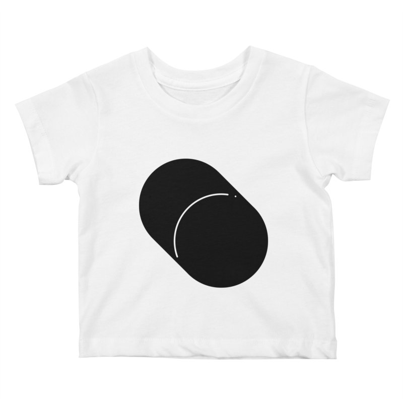 Shapes Cylinder Kids Baby T-Shirt by Rickard Arvius