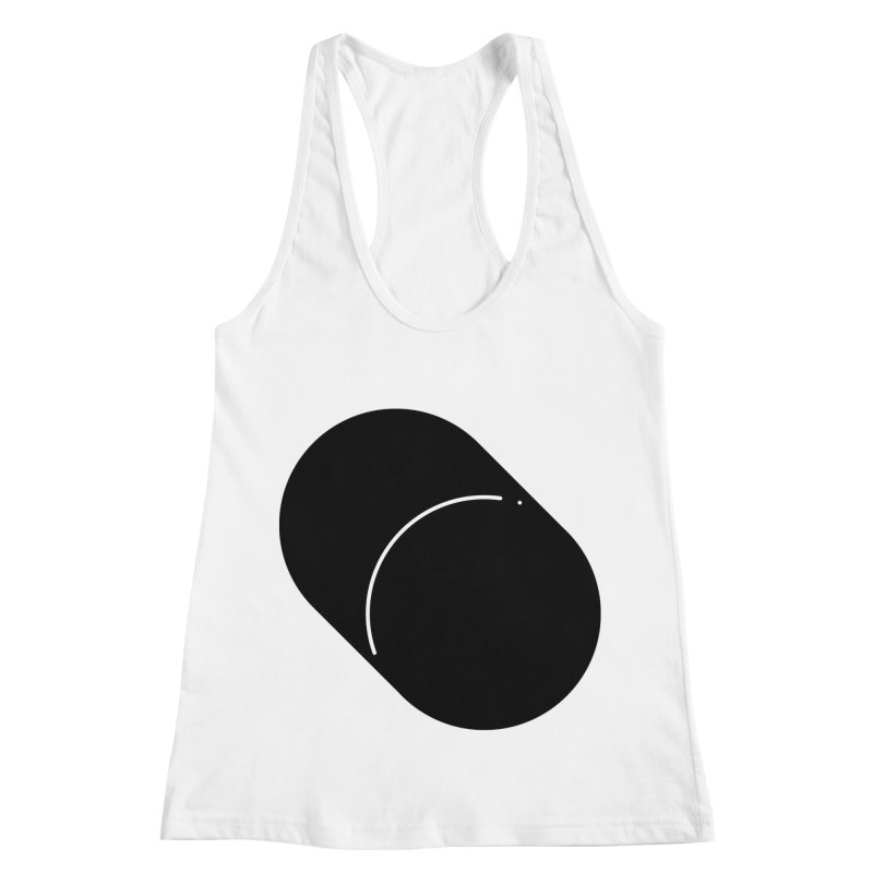 Shapes Cylinder Women's Racerback Tank by Rickard Arvius