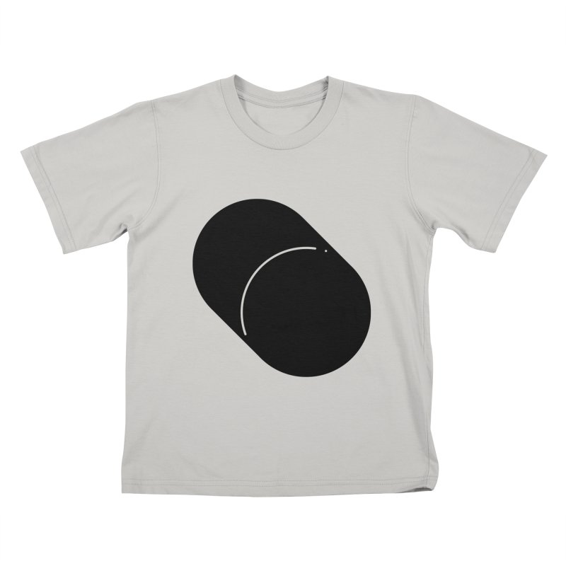 Shapes Cylinder Kids T-Shirt by Rickard Arvius