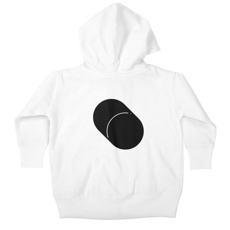 Shapes Cylinder Kids Baby Zip-Up Hoody by Rickard Arvius
