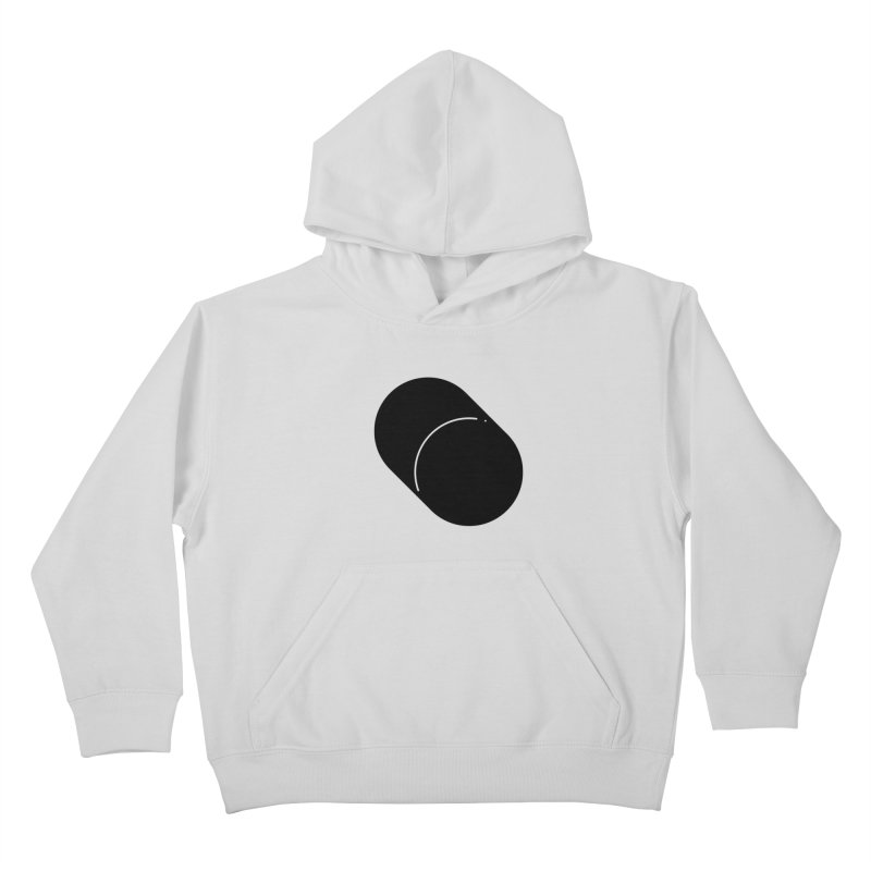 Shapes Cylinder Kids Pullover Hoody by Rickard Arvius