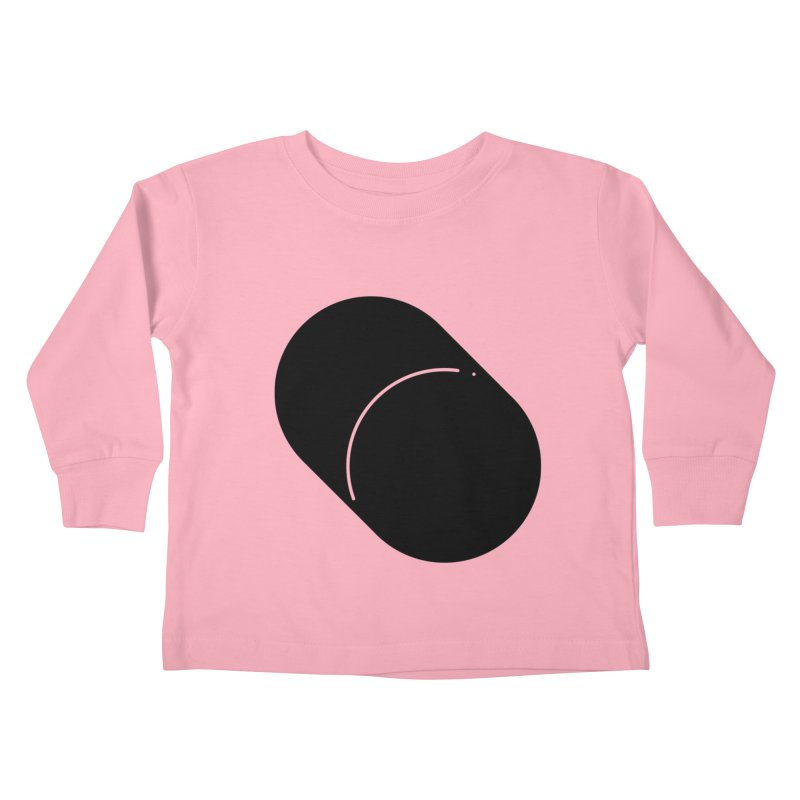 Shapes Cylinder Kids Toddler Longsleeve T-Shirt by Rickard Arvius