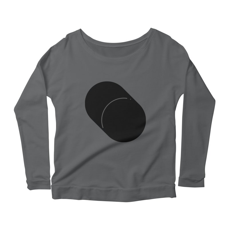 Shapes Cylinder Women's Longsleeve Scoopneck  by Rickard Arvius