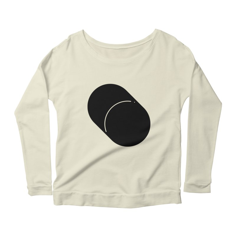 Shapes Cylinder Women's Scoop Neck Longsleeve T-Shirt by Rickard Arvius