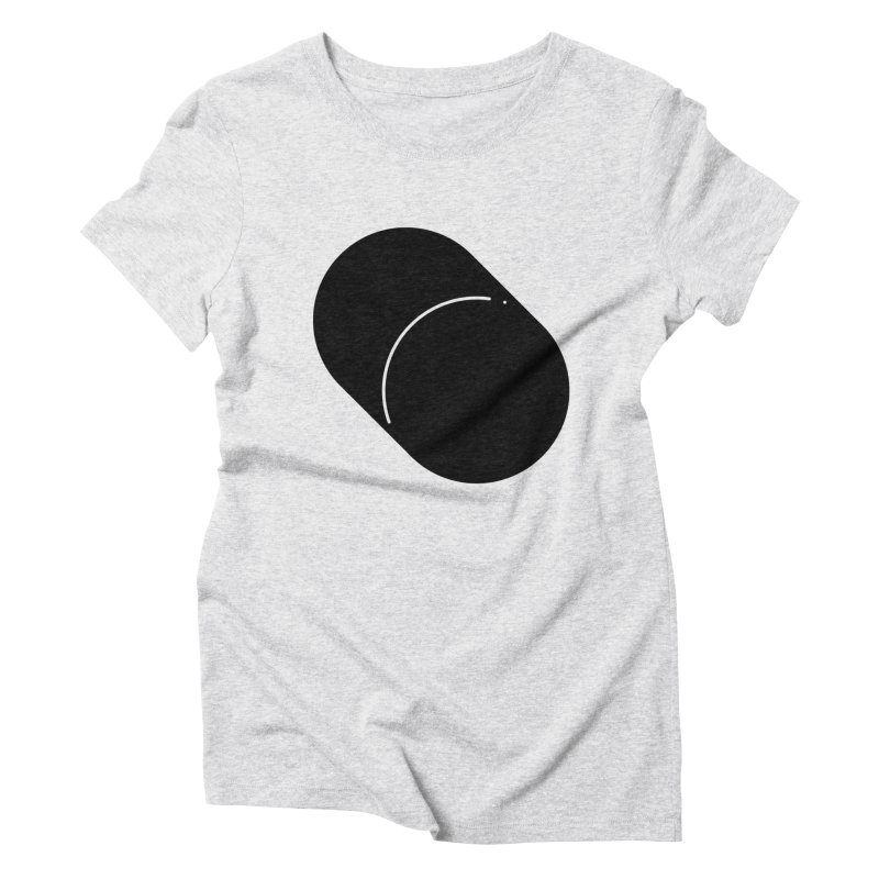 Shapes Cylinder Women's Triblend T-Shirt by Rickard Arvius