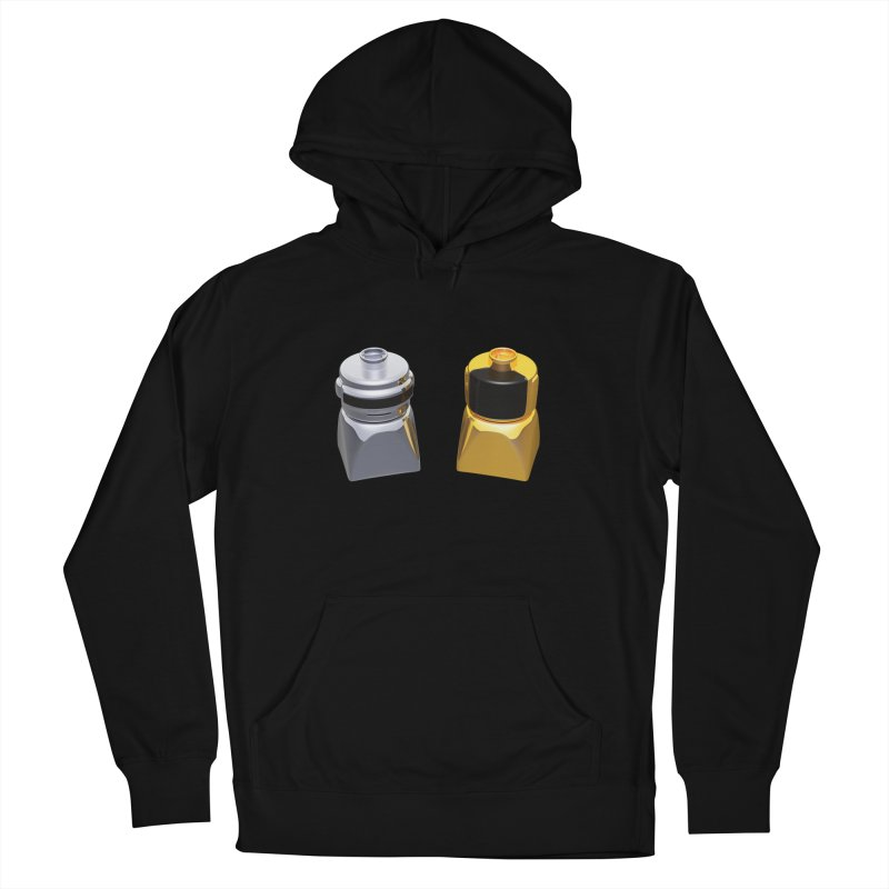 Duplo Daft Punk Women's French Terry Pullover Hoody by Rickard Arvius