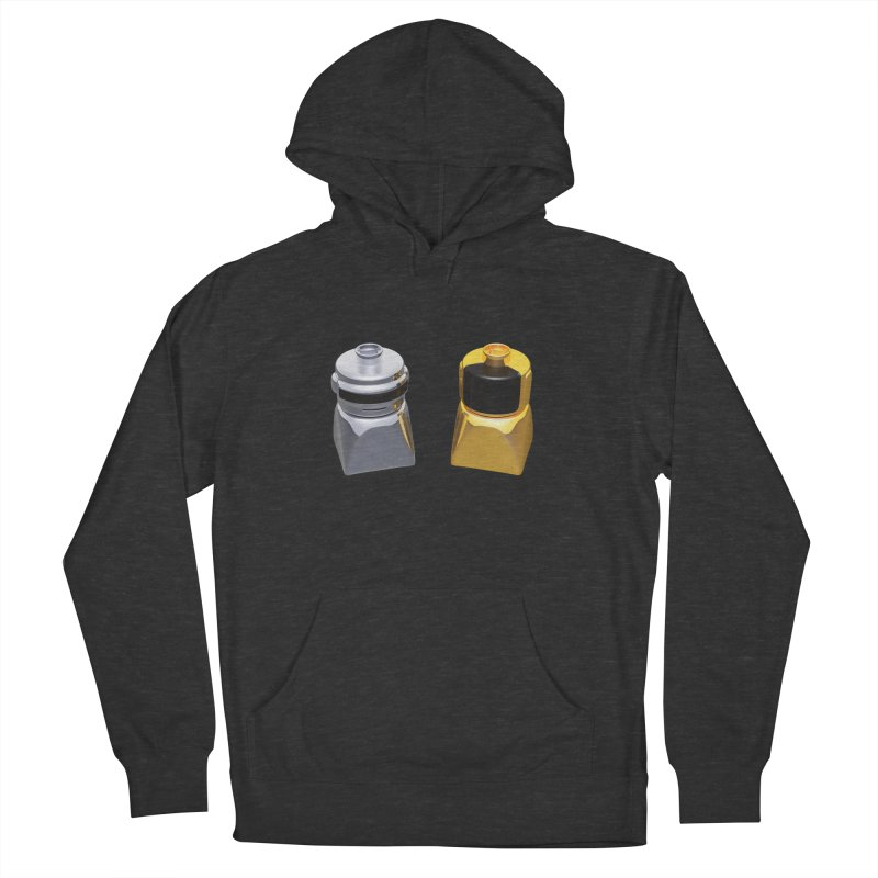 Duplo Daft Punk Men's French Terry Pullover Hoody by Rickard Arvius