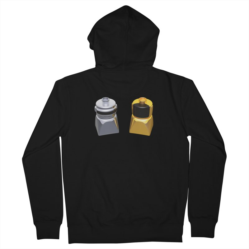 Duplo Daft Punk Women's French Terry Zip-Up Hoody by Rickard Arvius