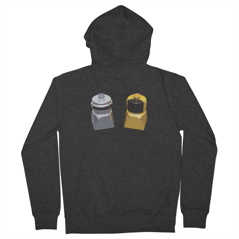 Duplo Daft Punk Men's French Terry Zip-Up Hoody by Rickard Arvius