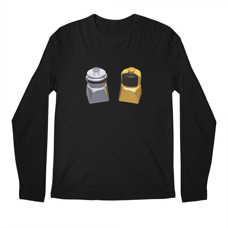 Duplo Daft Punk Men's Longsleeve T-Shirt by Rickard Arvius