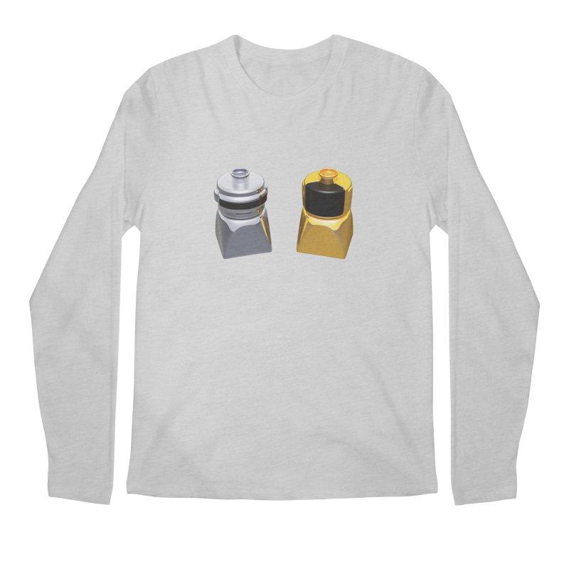 Duplo Daft Punk Men's Regular Longsleeve T-Shirt by Rickard Arvius