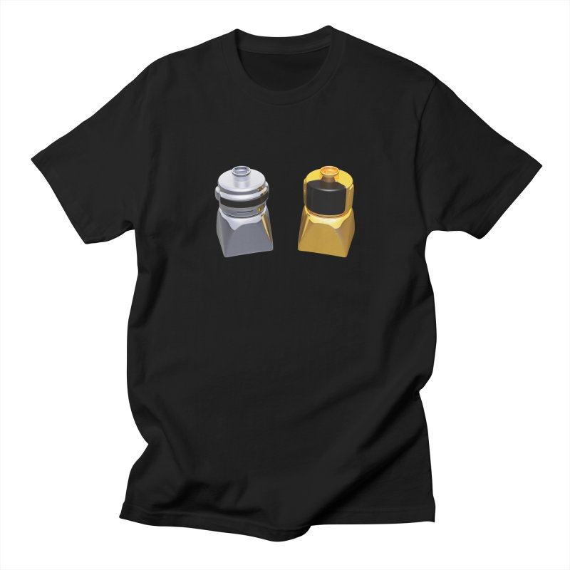Duplo Daft Punk Men's Regular T-Shirt by Rickard Arvius