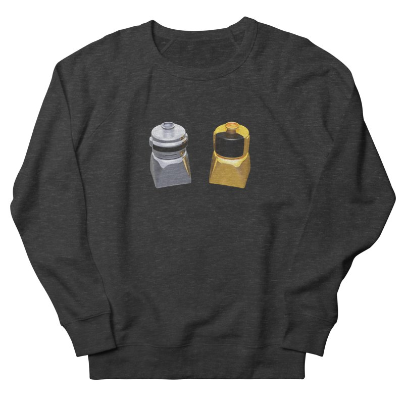 Duplo Daft Punk Women's French Terry Sweatshirt by Rickard Arvius