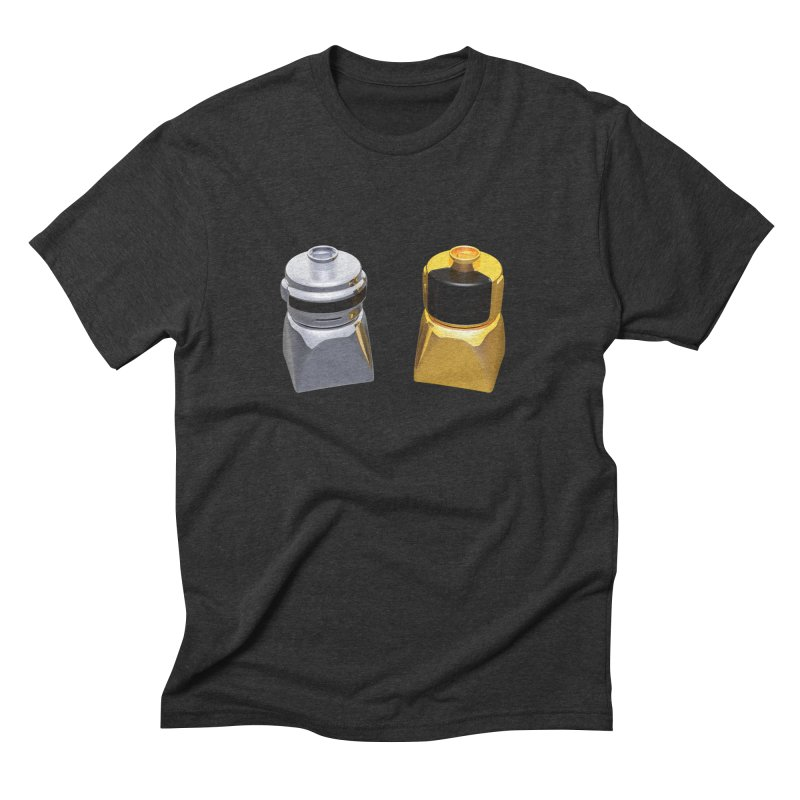 Duplo Daft Punk Men's Triblend T-shirt by Rickard Arvius