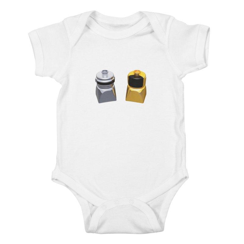 Duplo Daft Punk Kids Baby Bodysuit by Rickard Arvius