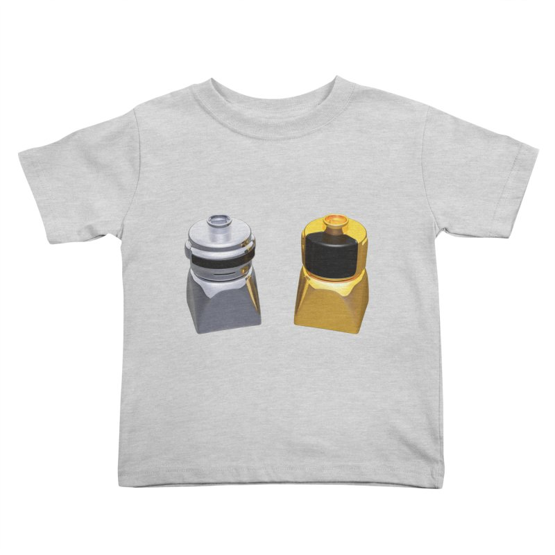 Duplo Daft Punk Kids Toddler T-Shirt by Rickard Arvius