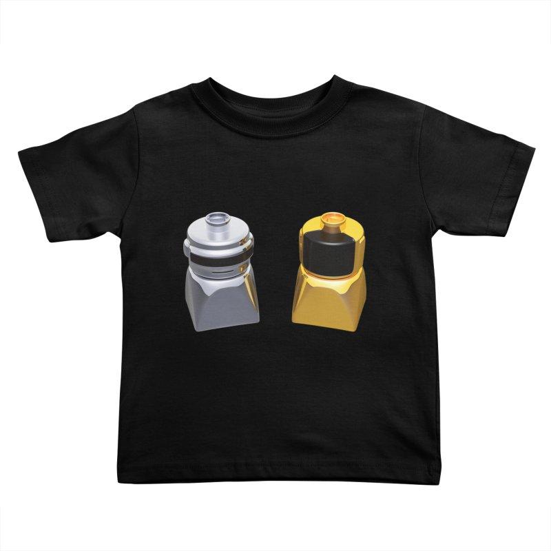 Duplo Daft Punk Kids Toddler T-Shirt by Rickard Arvius