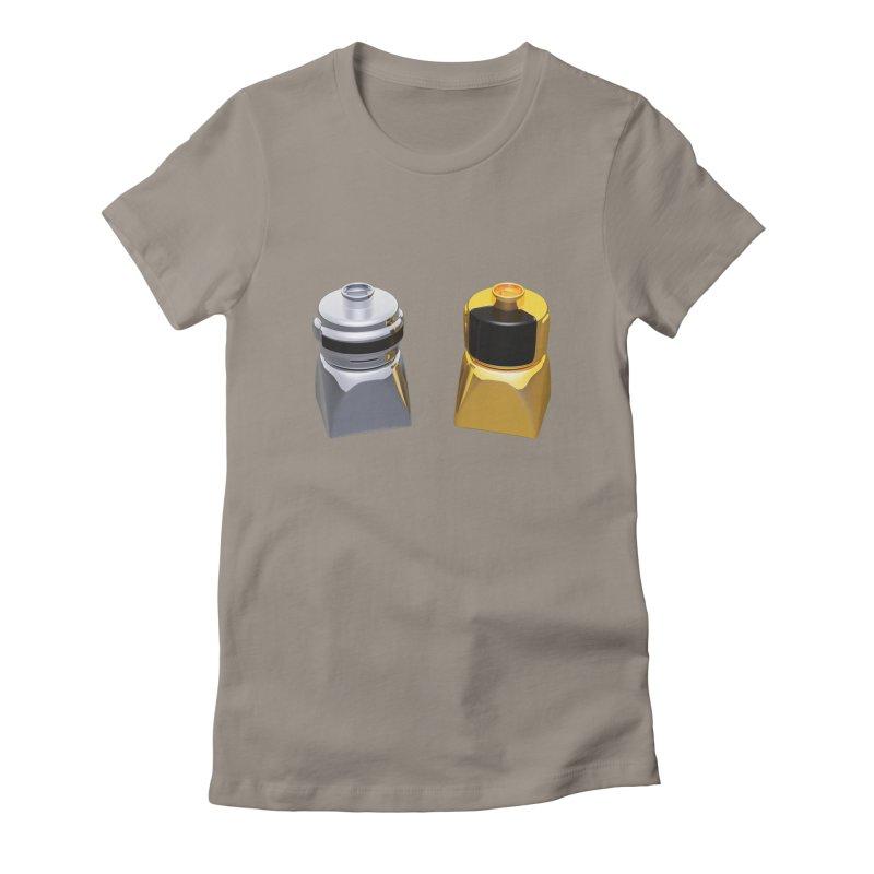 Duplo Daft Punk Women's T-Shirt by Rickard Arvius