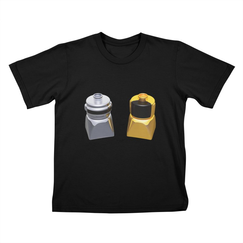 Duplo Daft Punk Kids T-Shirt by Rickard Arvius