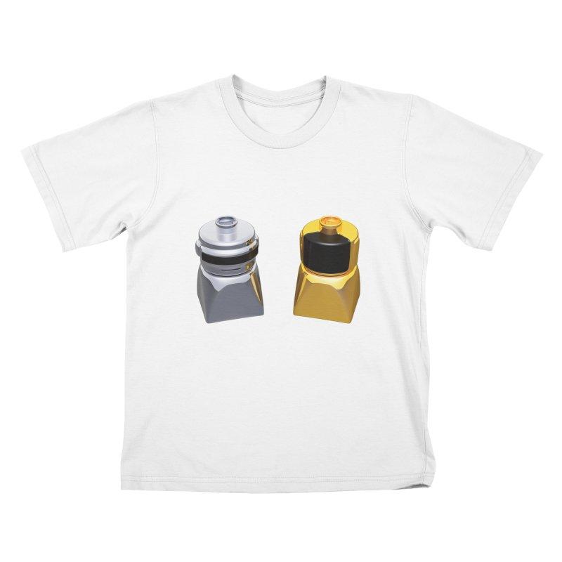 Duplo Daft Punk Kids T-shirt by Rickard Arvius