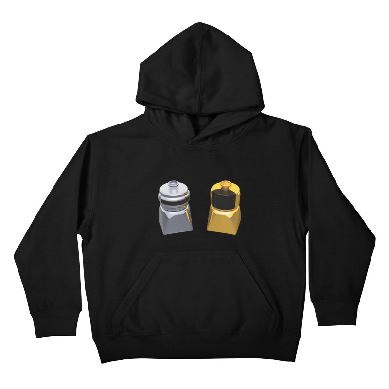 Duplo Daft Punk Kids Pullover Hoody by Rickard Arvius