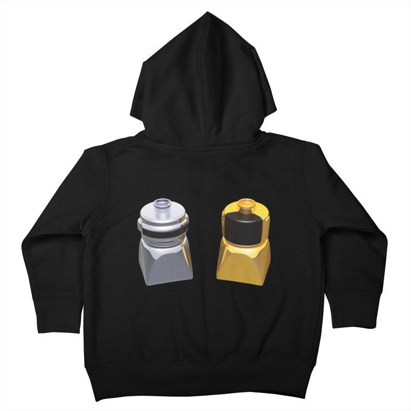 Duplo Daft Punk Kids Toddler Zip-Up Hoody by Rickard Arvius