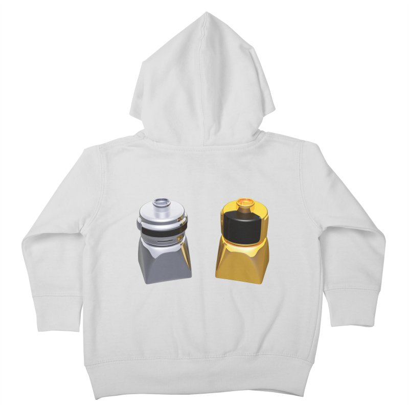 Duplo Daft Punk Kids Toddler Zip-Up Hoody by Rickard Arvius