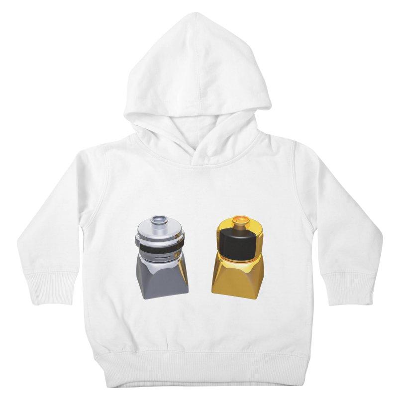 Duplo Daft Punk Kids Toddler Pullover Hoody by Rickard Arvius